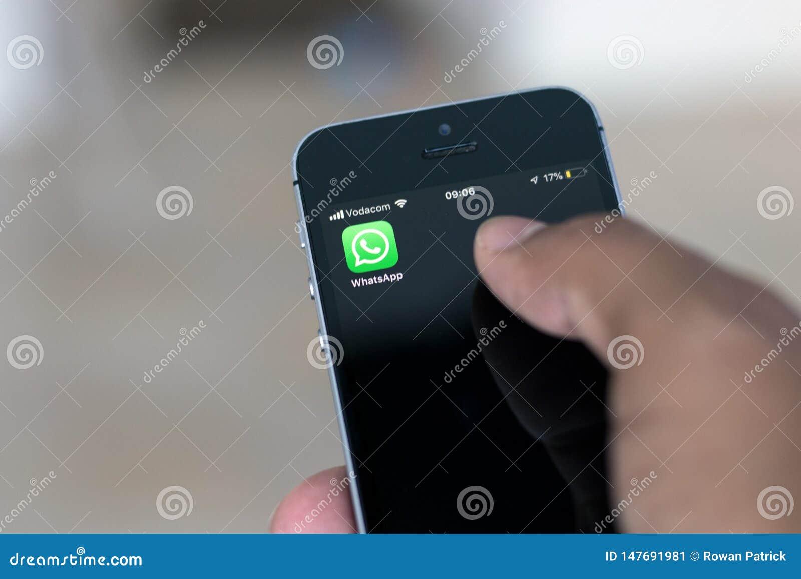Africa whatsapp south Messaging App