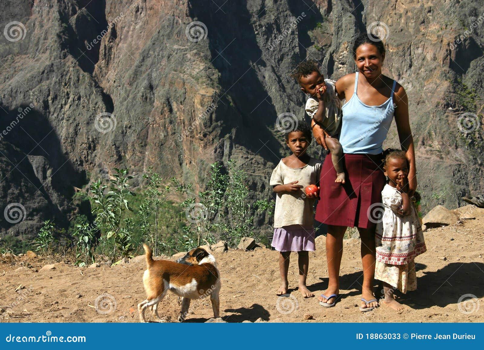 Cape Verde Family