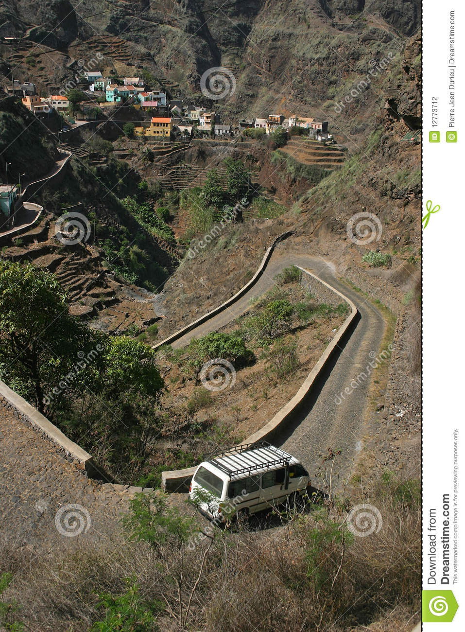 Cape Verde mountain village