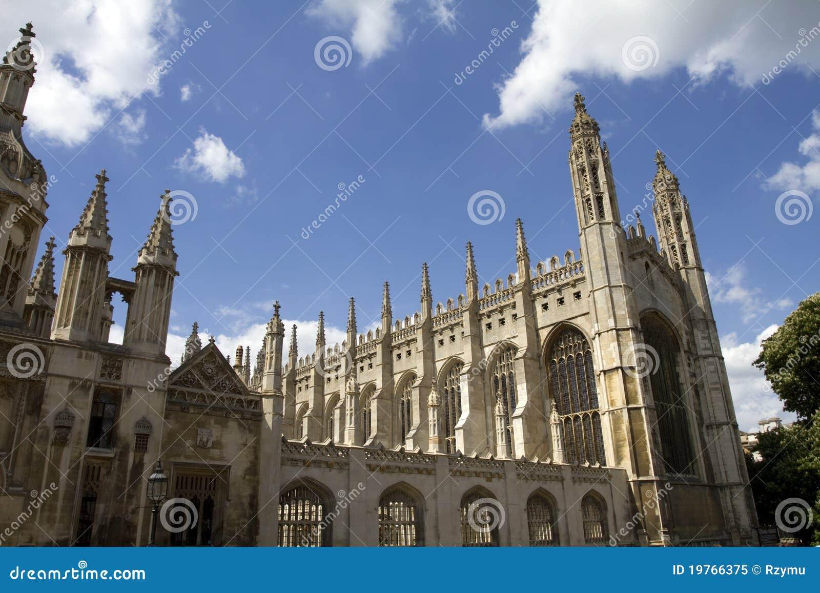 Capela Cambridge da faculdade dos reis