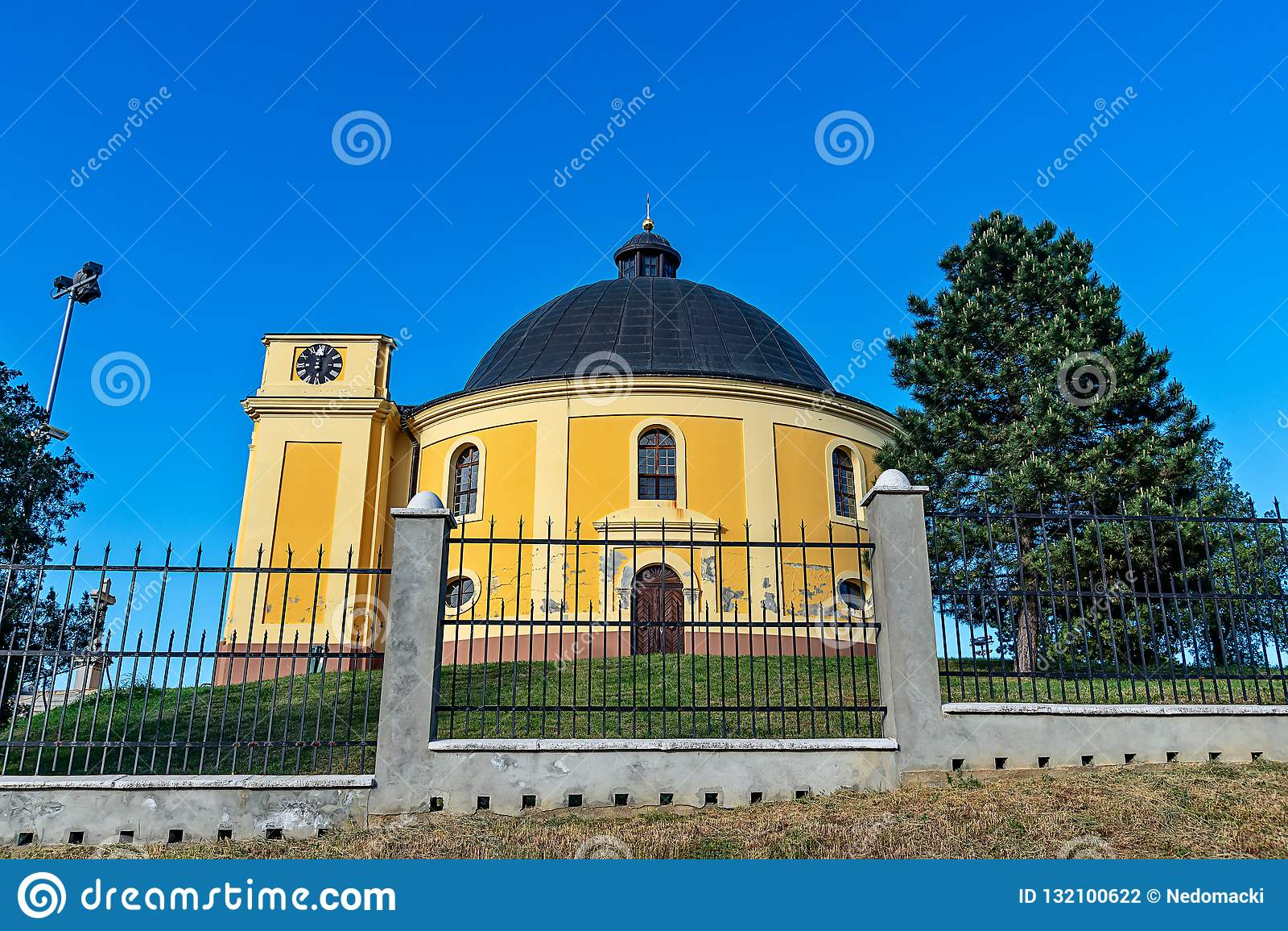 Capela da paz onde o Tratado de Karlowitz foi negociado em Sremski Karlovci Aquele era si
