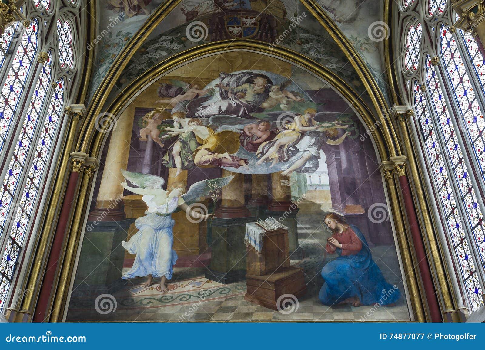 Capela de Primatice, abadia de Chaalis, Chaalis, França