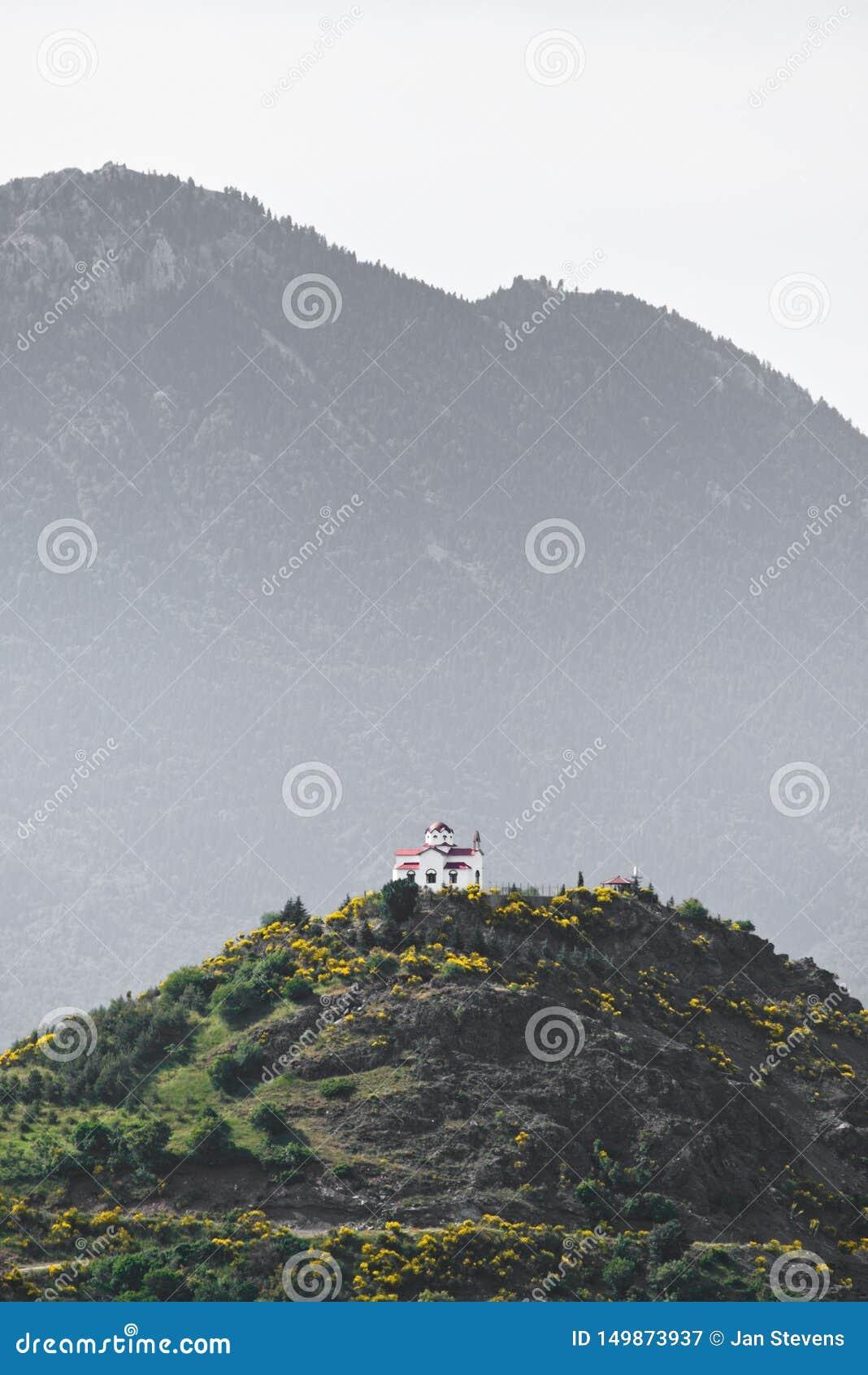 Capela em um monte