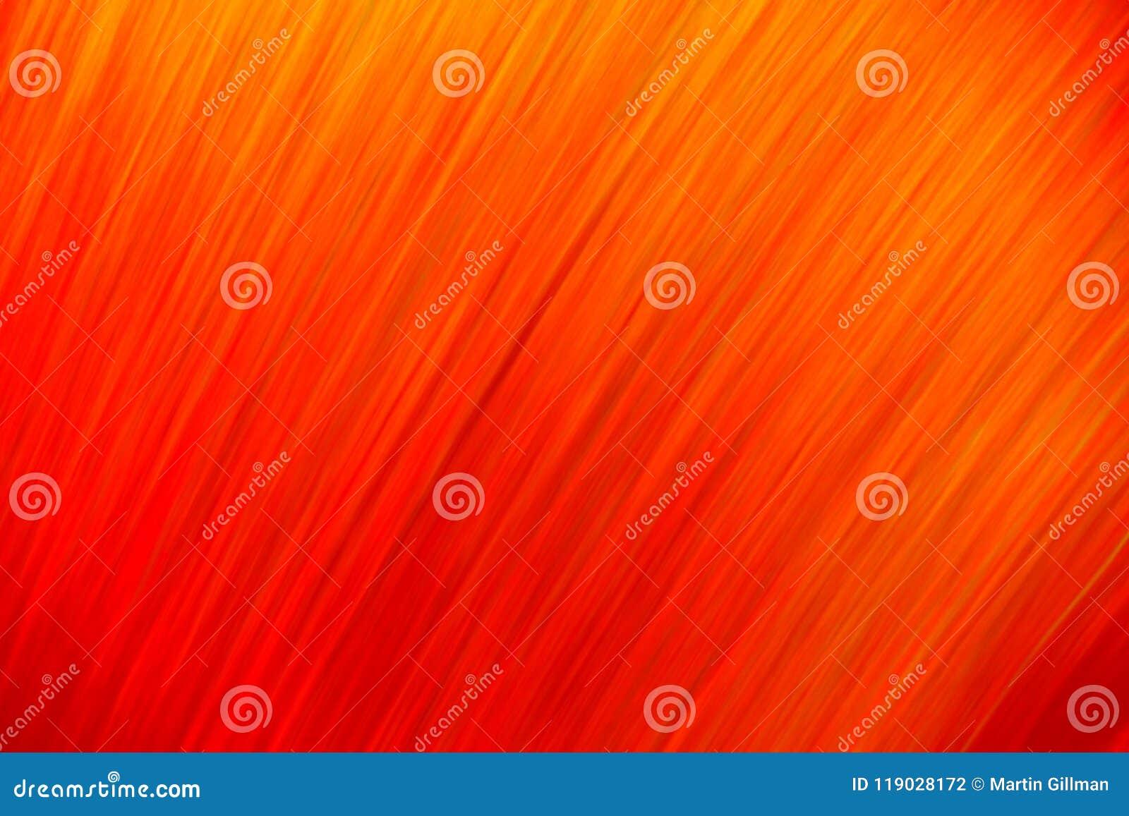 Capelli arancio e gialli vaghi