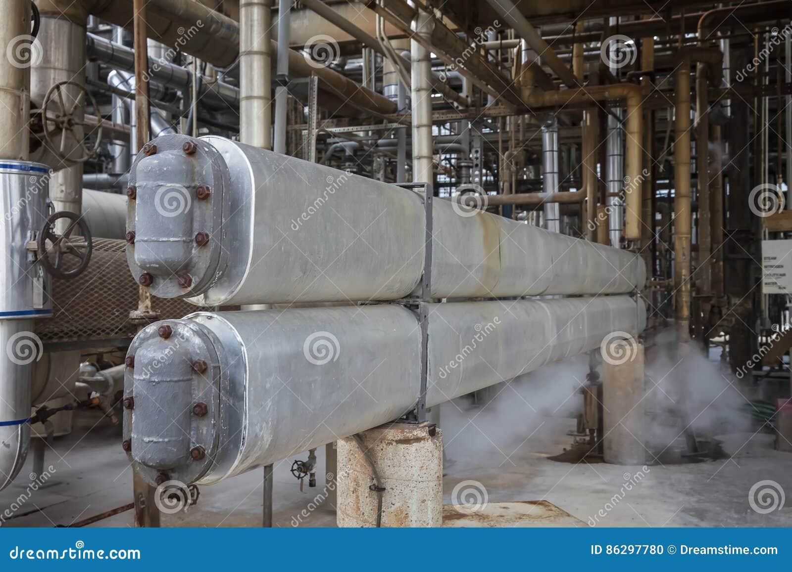 Capelli Pin Cooler Exchanger nell unità trattata della raffineria
