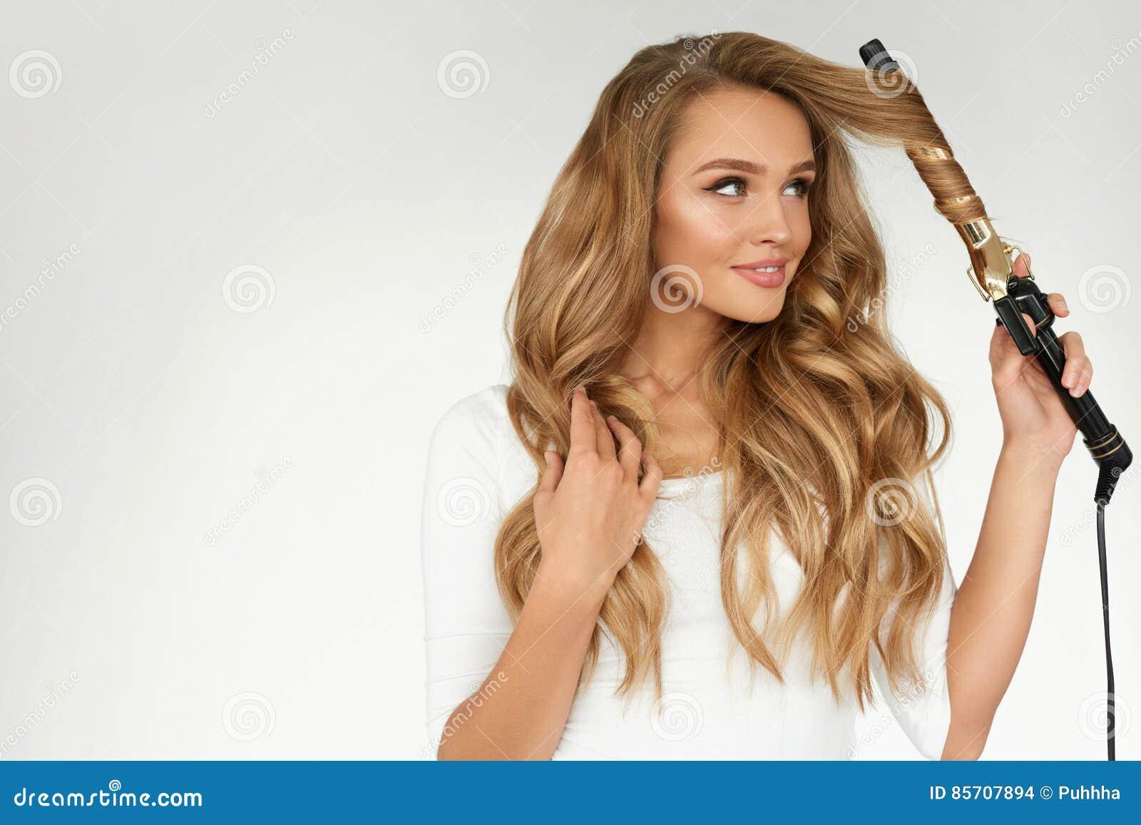 capelli mossi col ferro