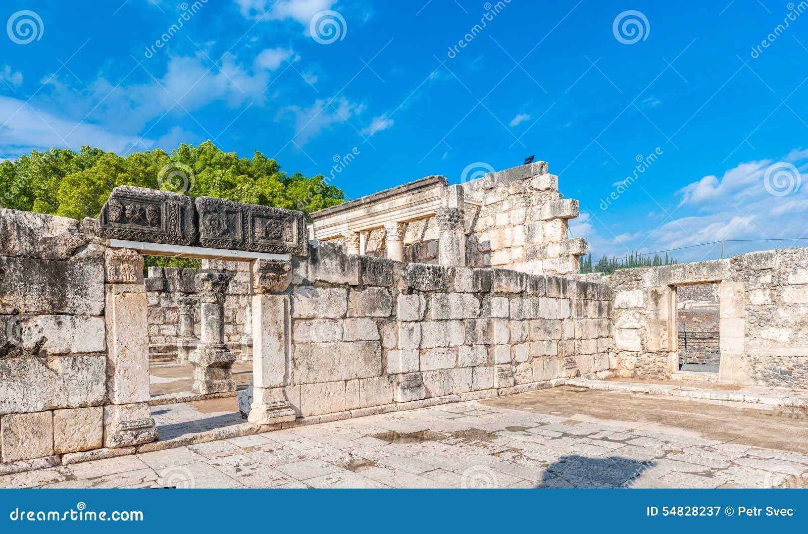 Capernaum犹太教堂
