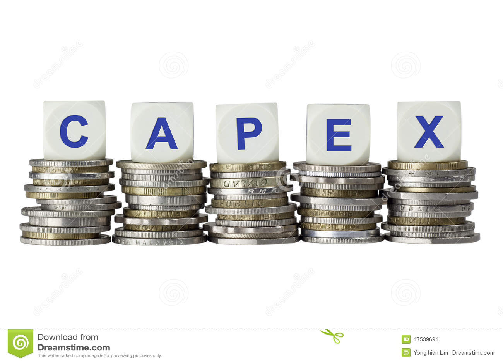 Capex Capital Expenditure Stock Photo Image 47539694