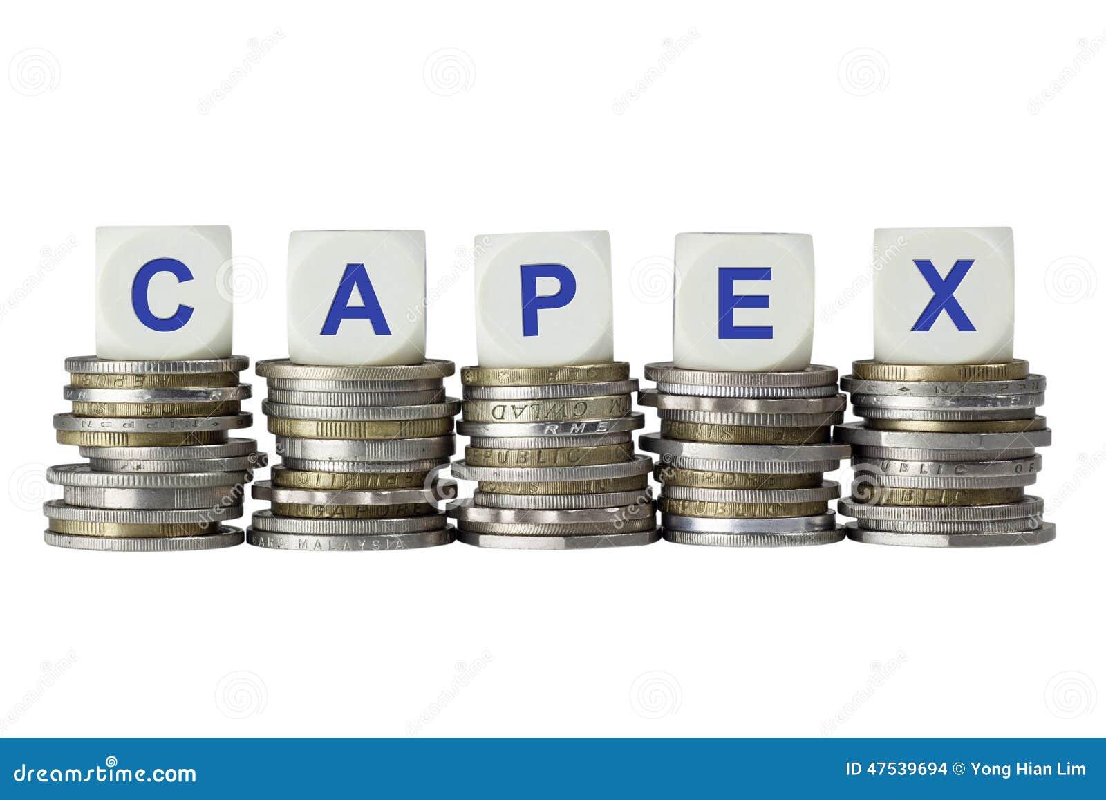 CAPEX - Gastos En Inversión De Capital Foto de archivo - Imagen de ...