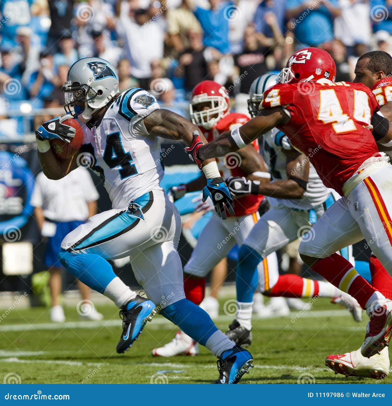 Capi del NFL Kansas City contro le pantere della Carolina
