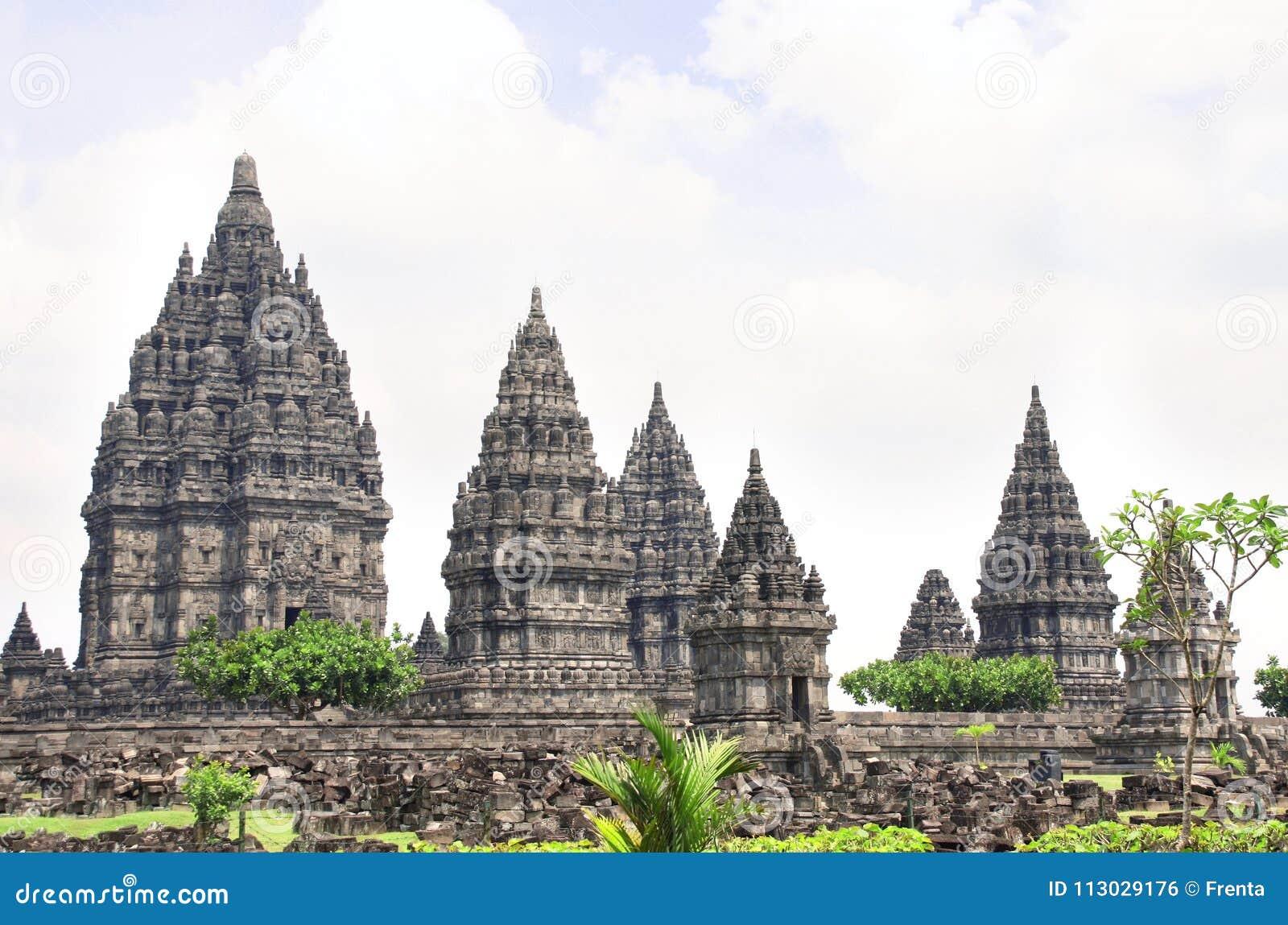 Capilla del templo hindú de Prambanan, Yogyakarta, Java, Indonesia