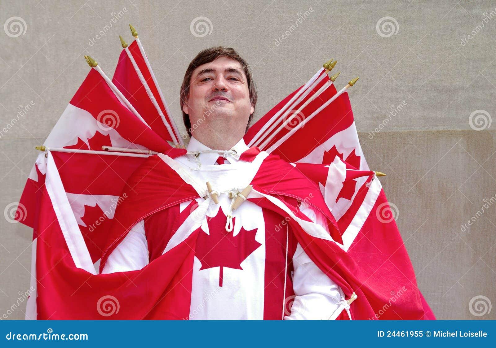 Capitán Canadá imagen editorial. Imagen de primero, cómodo - 24461955