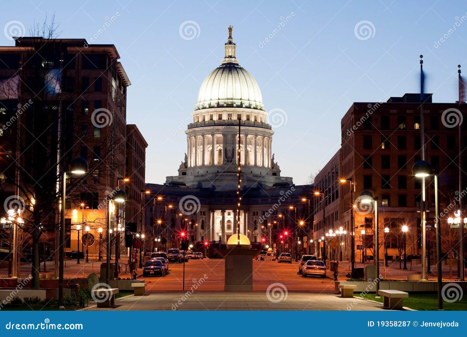 Capitólio do estado de Wisconsin