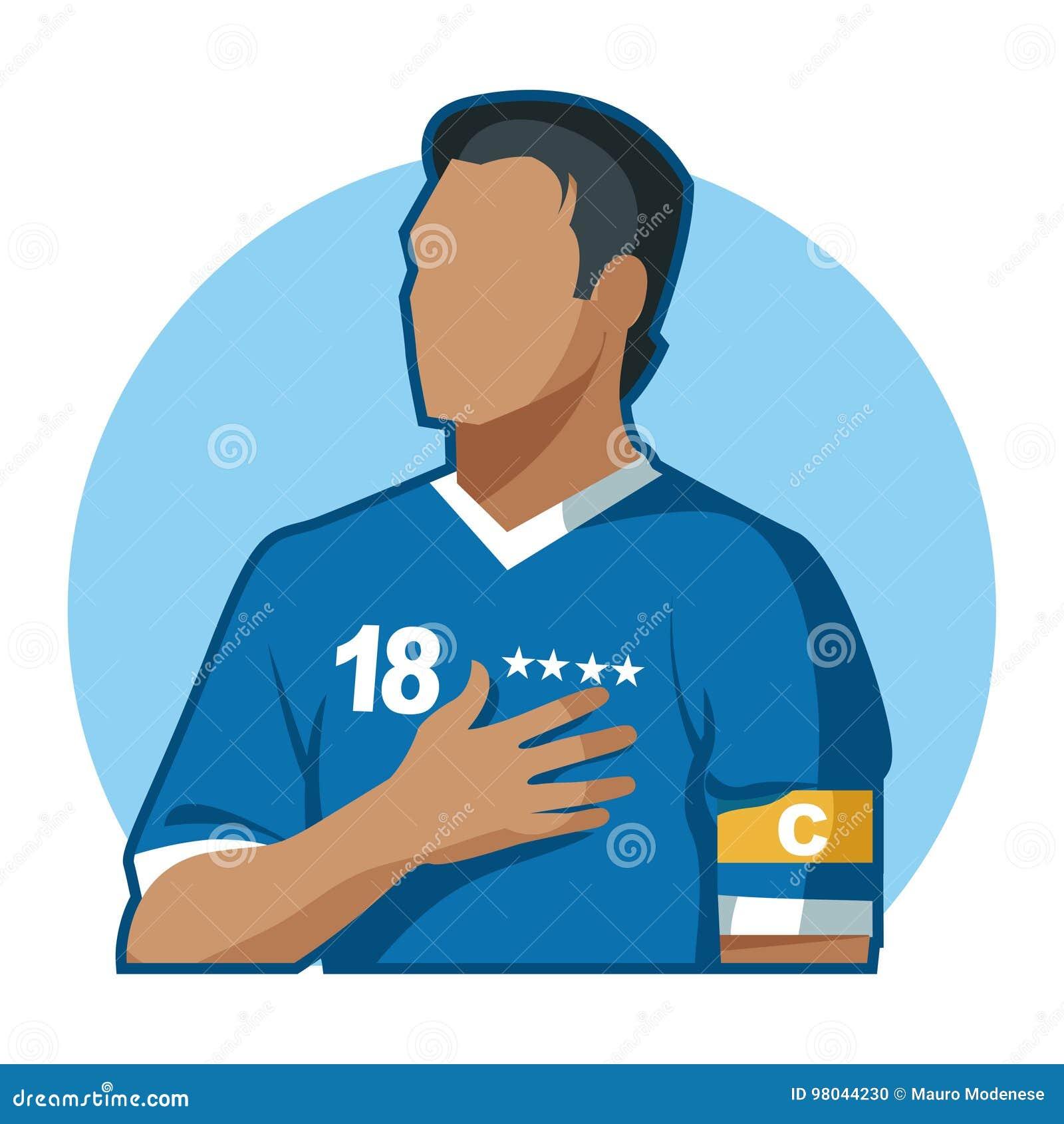 Capitaine du football