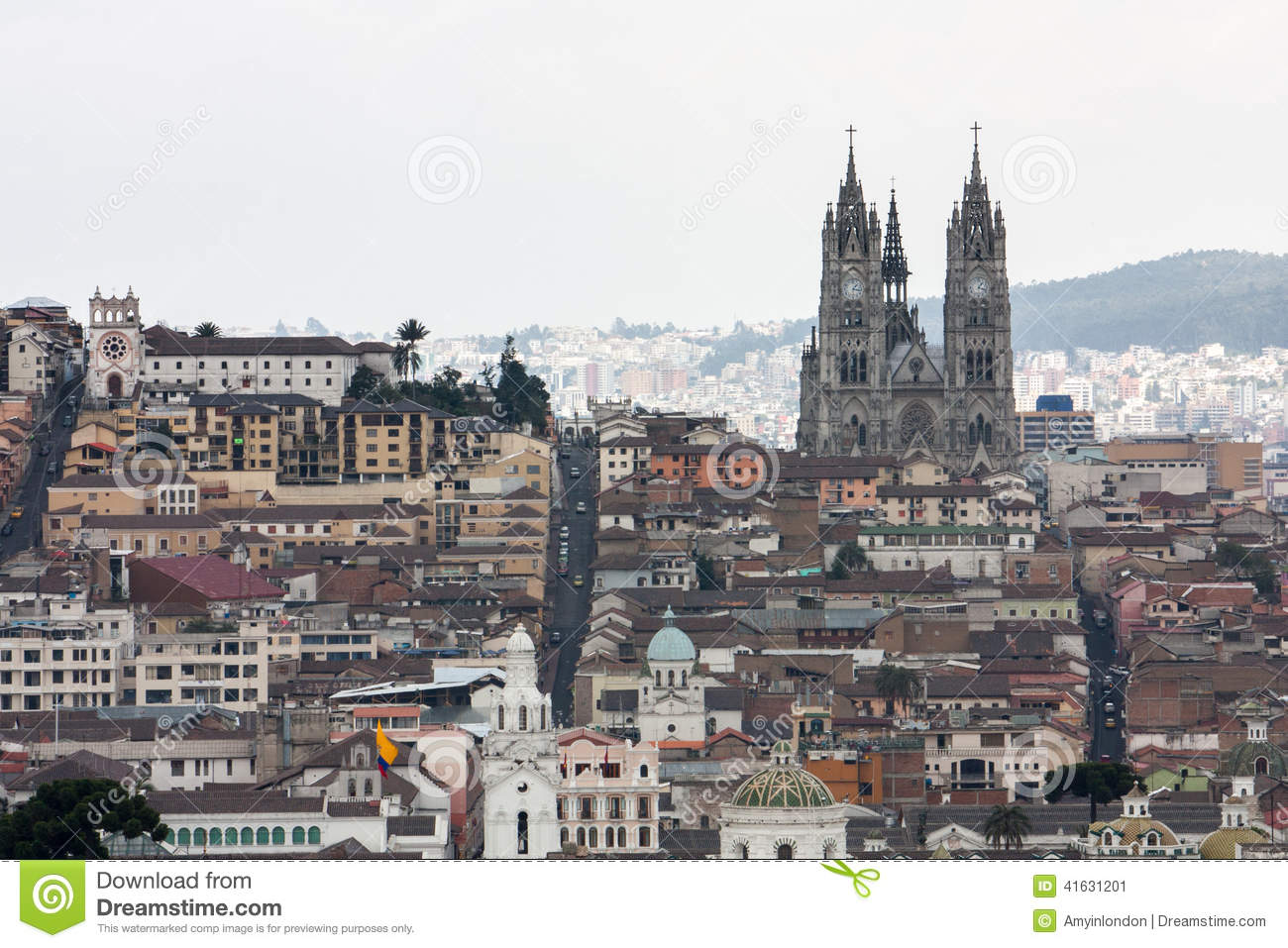 Capital City of Quito Ecuador