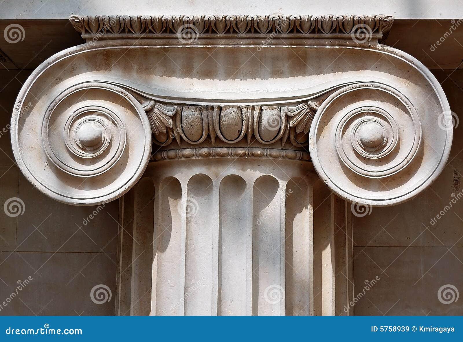 Capital de coluna iónico