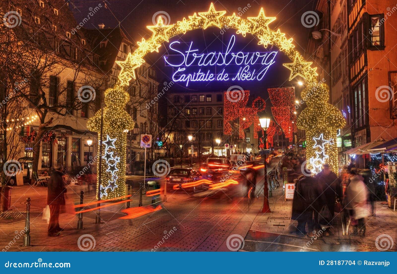 Capital De La Navidad De Estrasburgo Imagen De Archivo Editorial Imagen De Navidad Estrasburgo 28187704