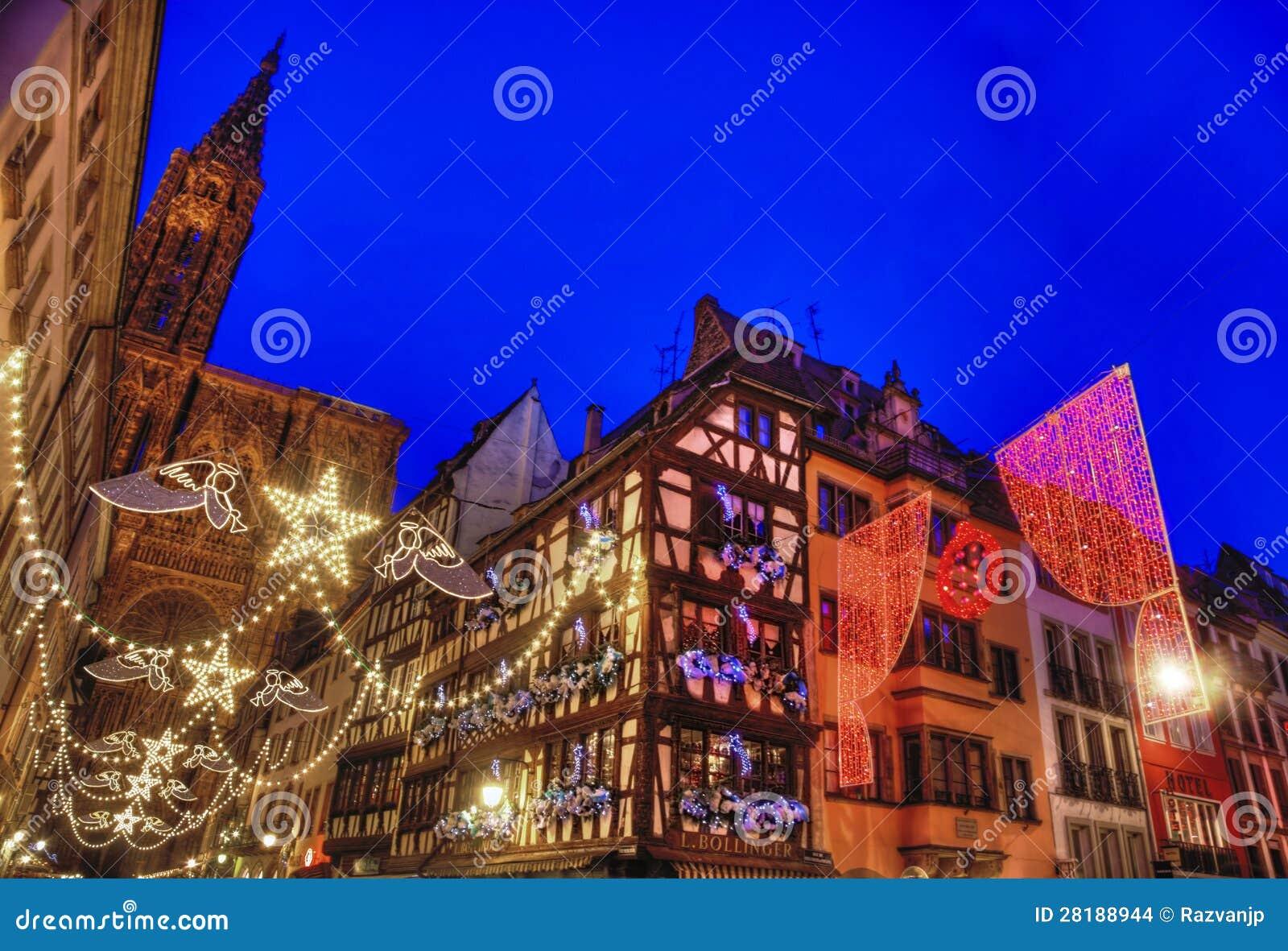 Capital De La Navidad De Estrasburgo Imagen De Archivo Editorial Imagen De Festivo Alsacia 28188944