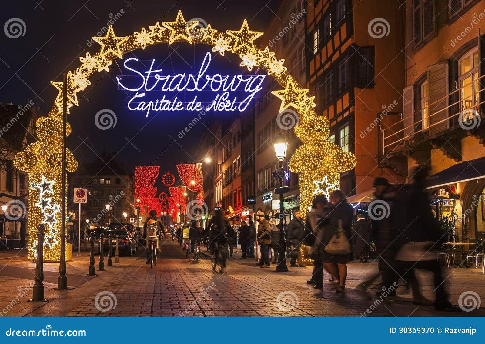 Capital De La Navidad De Estrasburgo Imagen Editorial Imagen De Capital Estrasburgo 30369370