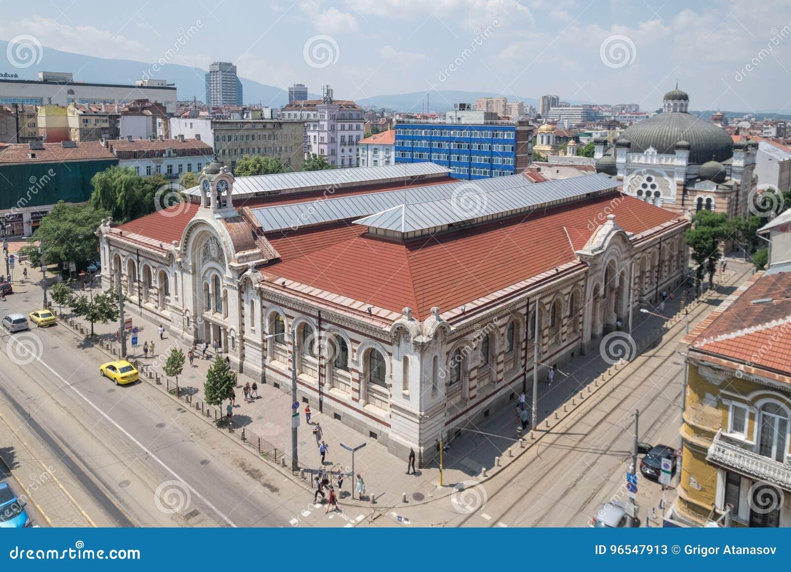 Capital de Sófia, Bulgária do centro