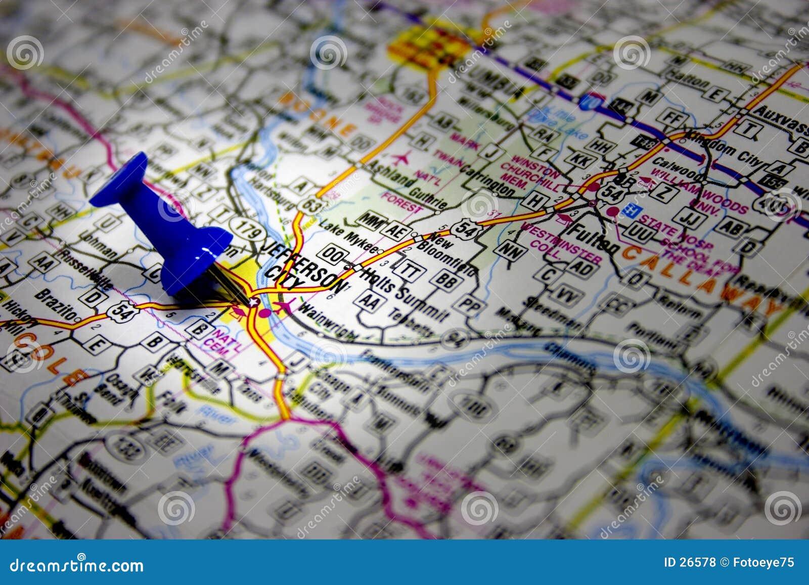 Download Capital Del Estado De Missouri Foto de archivo - Imagen de correspondencia, destinación: 26578