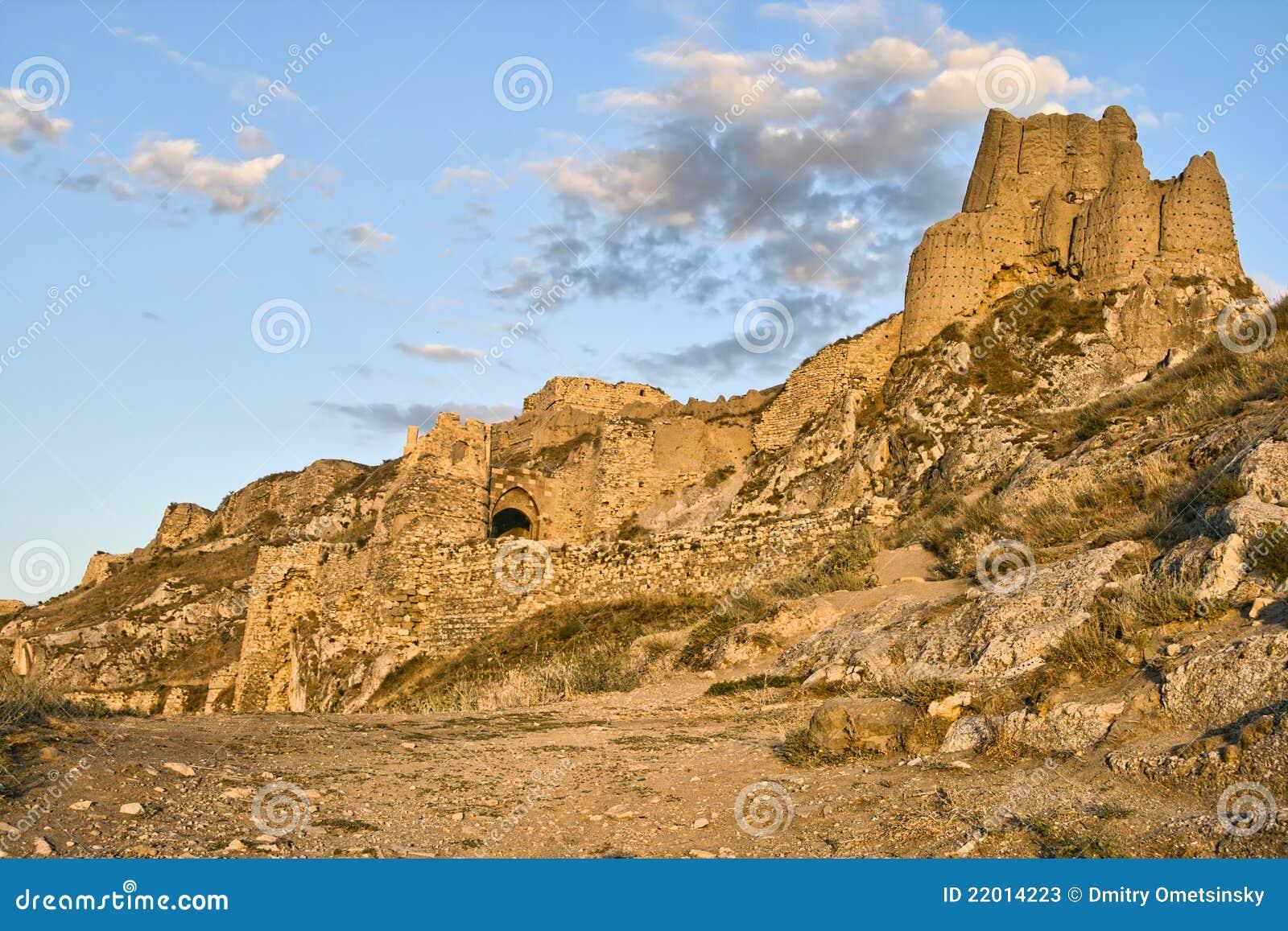 Capital fortress of kingdom Urartu in Van, Turkey