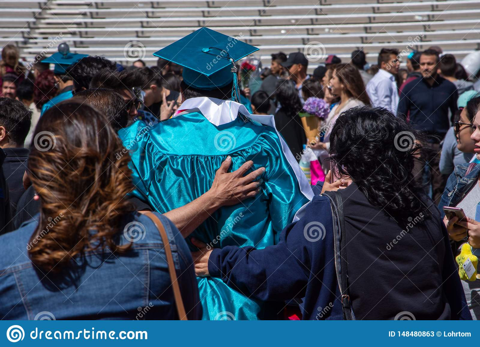 2019 Capital High School Graduation In Santa Fe Nm Editorial Stock Photo Image Of Grad Mexico 148480863