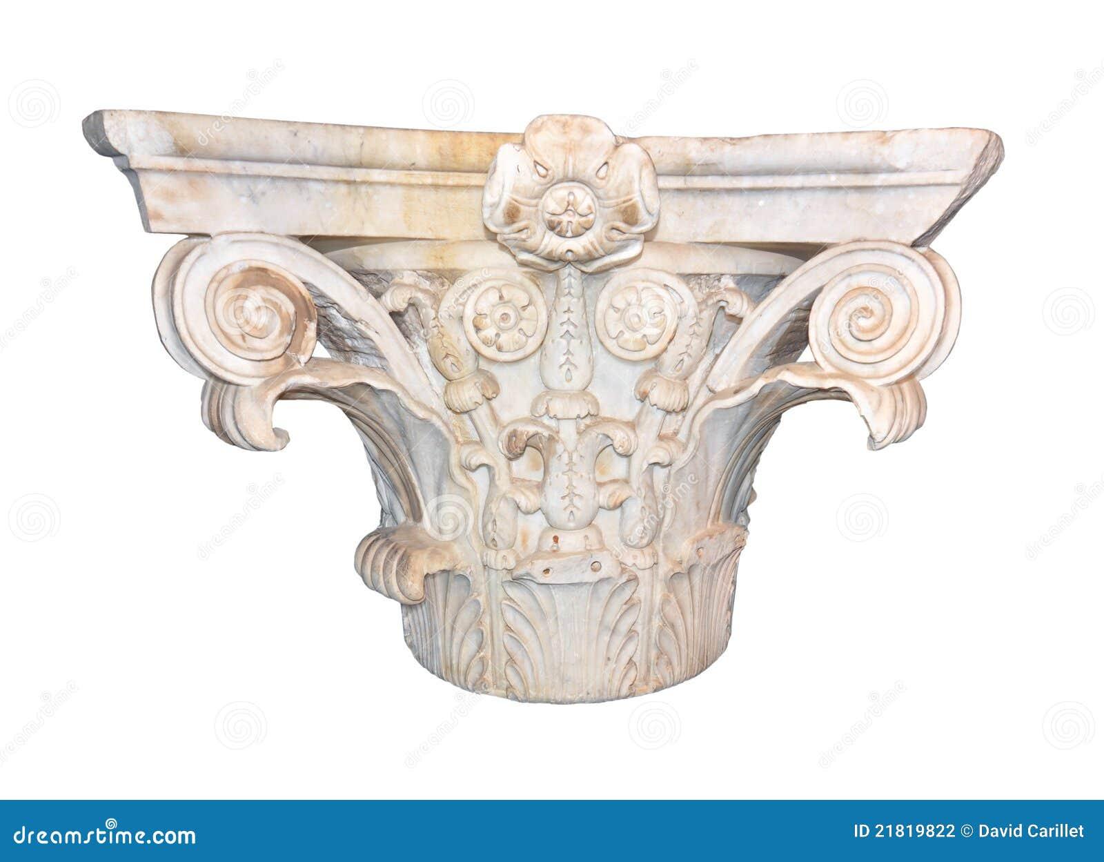 Capital romano antigo