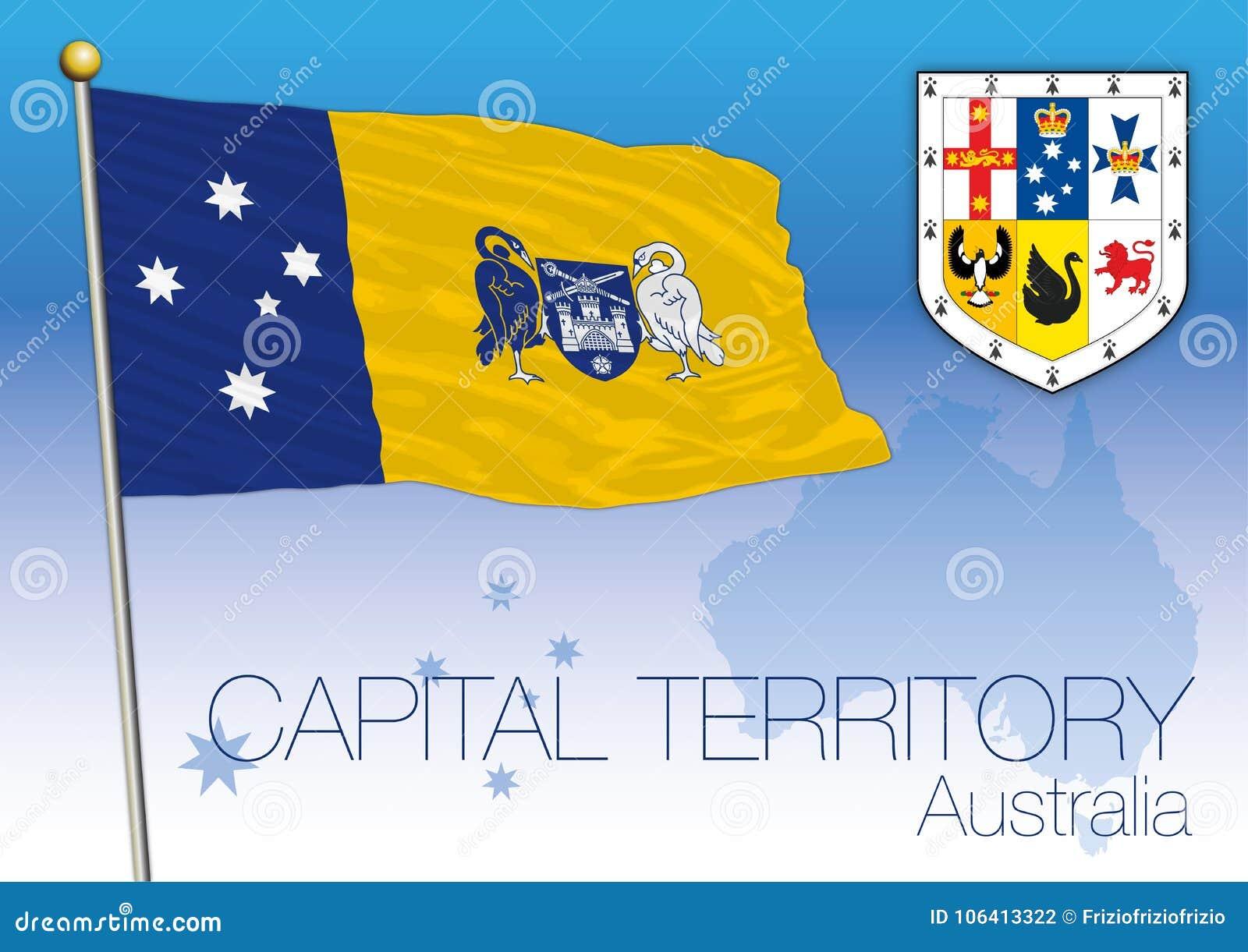 Capital Territory, flag of the state, Australia