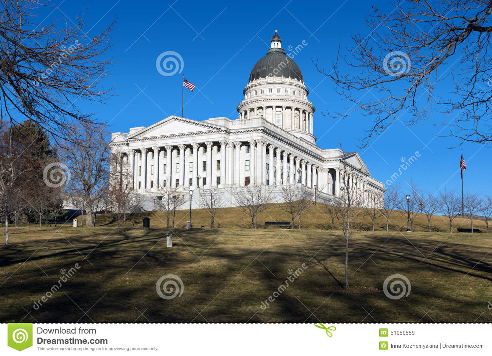 Capitol budynek w Salt Lake City, Utah, Stany Zjednoczone