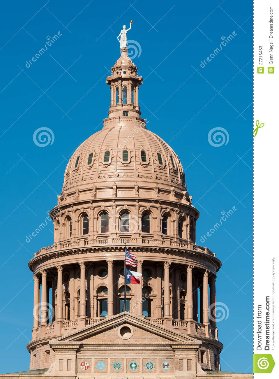 Capitol dome of Texas