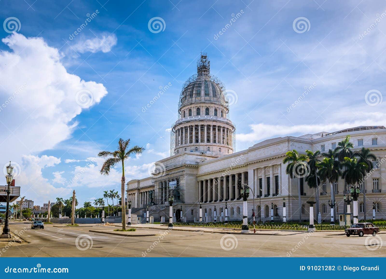 The Capitol El Capitolio building - Havana, Cuba