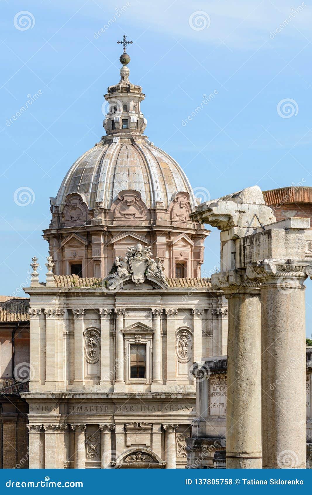 Capitol Hill rome l Italie 12 marche 2017 Vue du forum romain