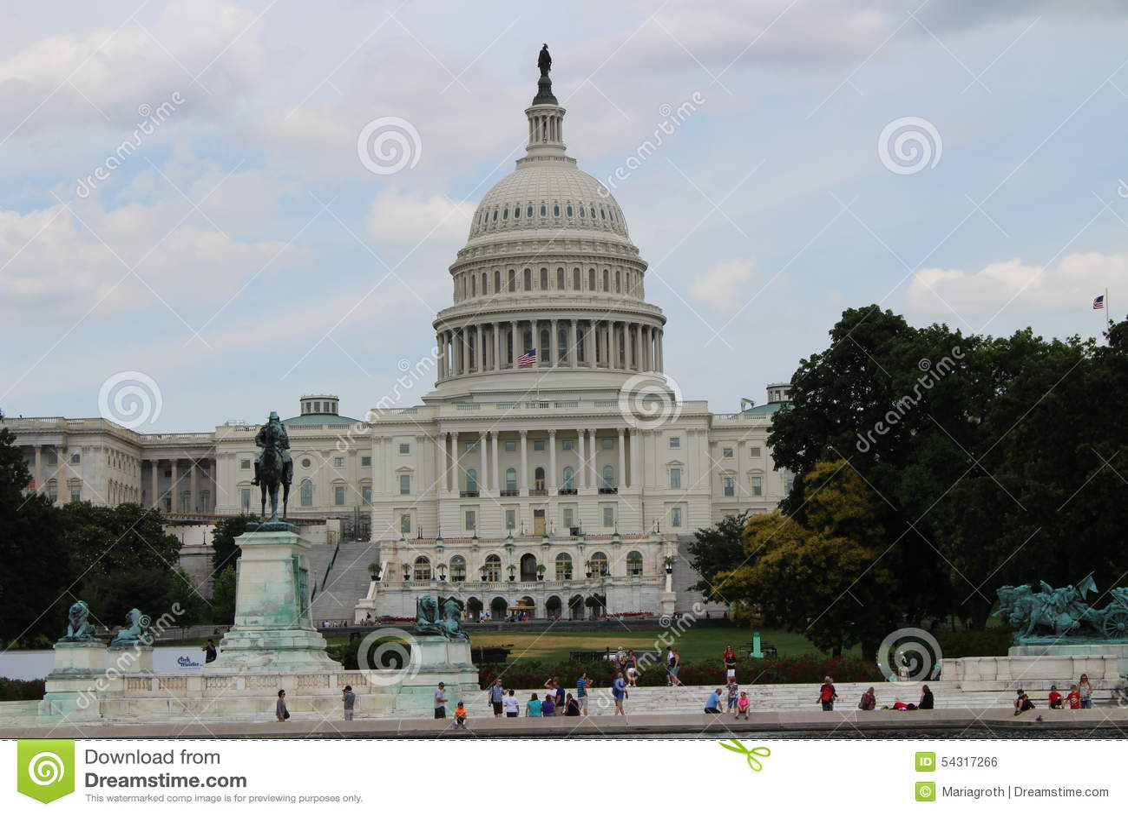 Capitol Washington D C Editorial Photo Image Of Governance