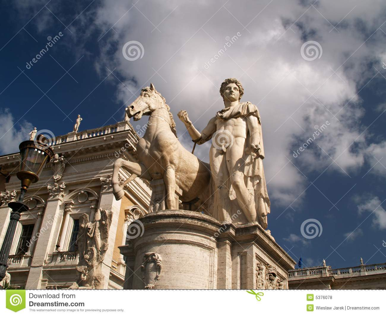 Capitoline Hill Royalty Free Stock Photos - Image: 5376078