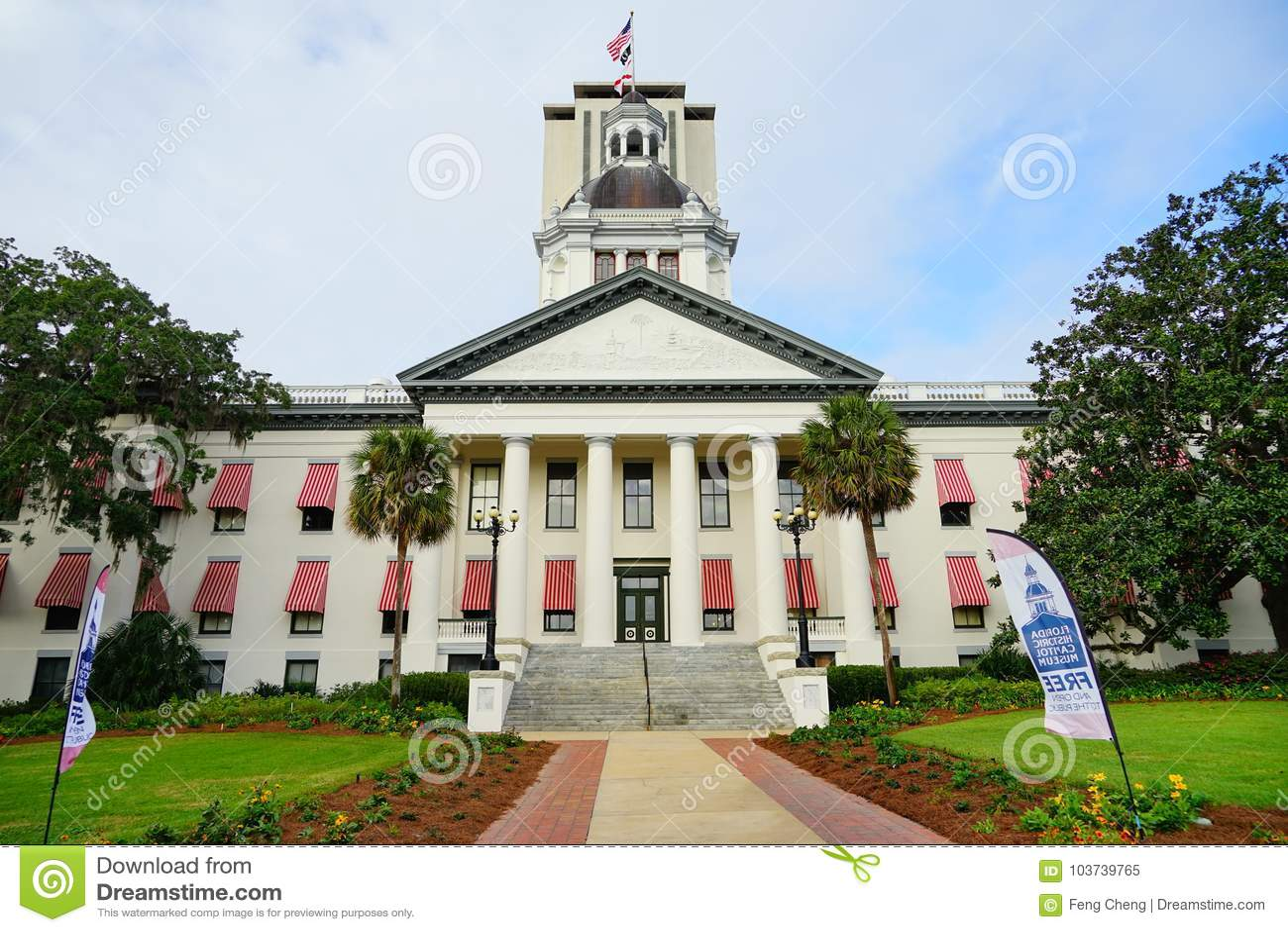 Capitolio Del Estado De La Florida Imagen editorial - Imagen de capital,  ciudades: 103739765