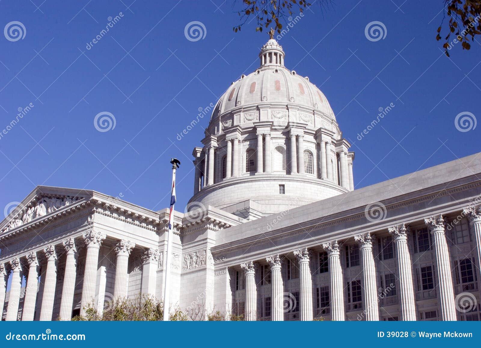 Download Capitolio Del Estado De Missouri Foto de archivo - Imagen de americano, céntrico: 39028