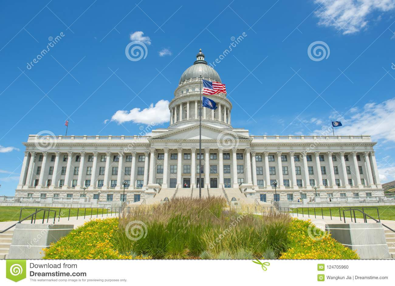 Capitolio del estado de Utah, Salt Lake City, los E.E.U.U.
