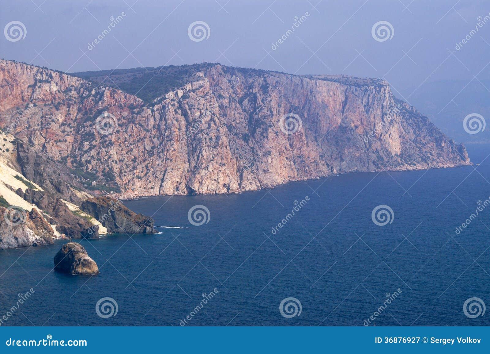 Download Capo Fiolent immagine stock. Immagine di penisola, speranza - 36876927