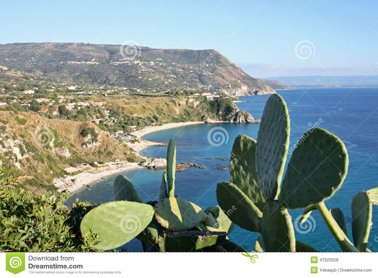 Capo Vaticano Italy  city pictures gallery : Capo Vaticano, Calabria, Italy Stock Photo Image: 47523026