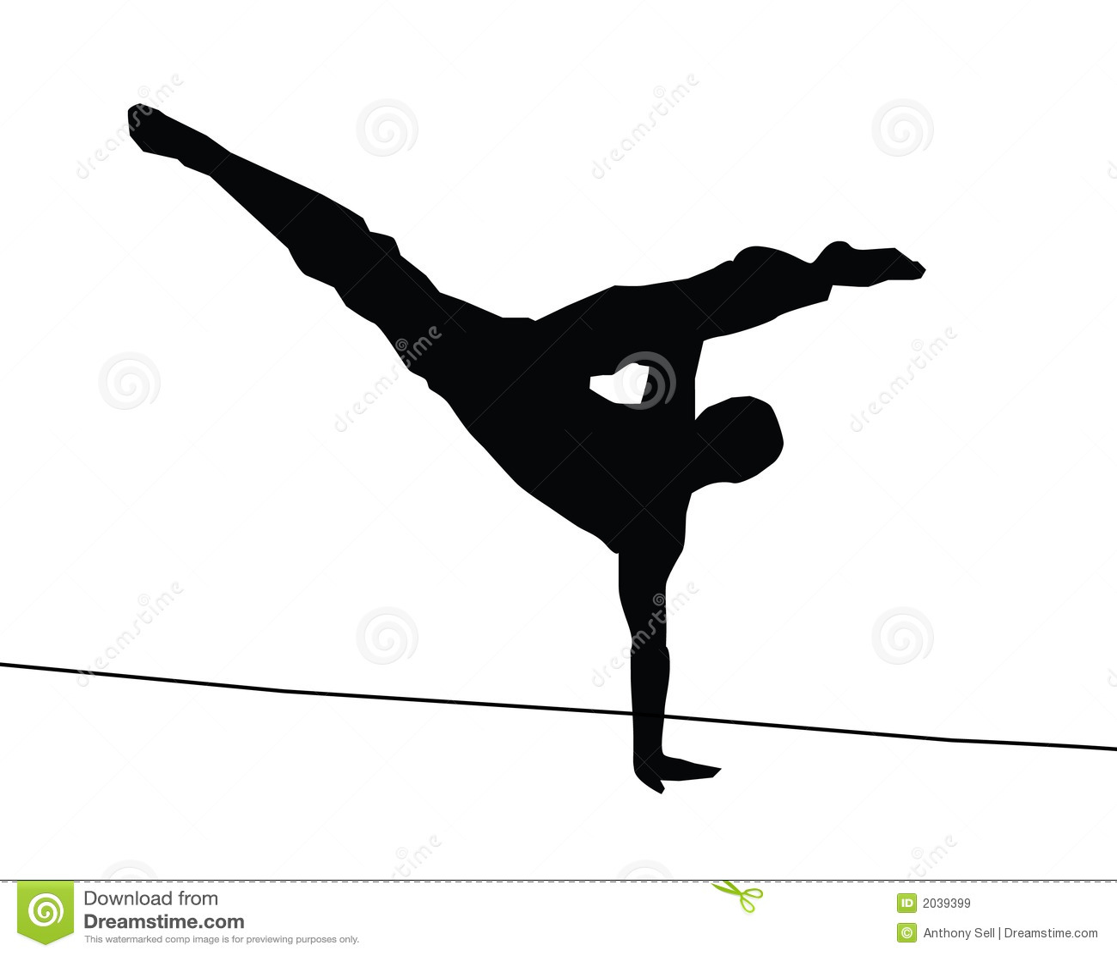 Capoeira Kick Royalty Free Stock Images - Image: 2039399