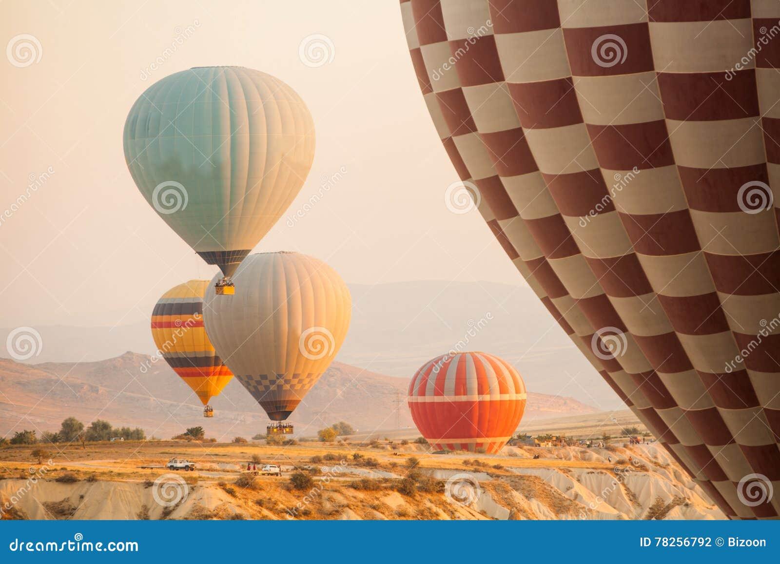 Cappadocia μπαλονιών αέρα καυτό