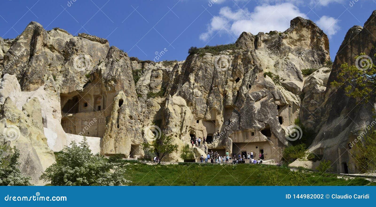 Церковь пещеры в Cappadocia, Турции