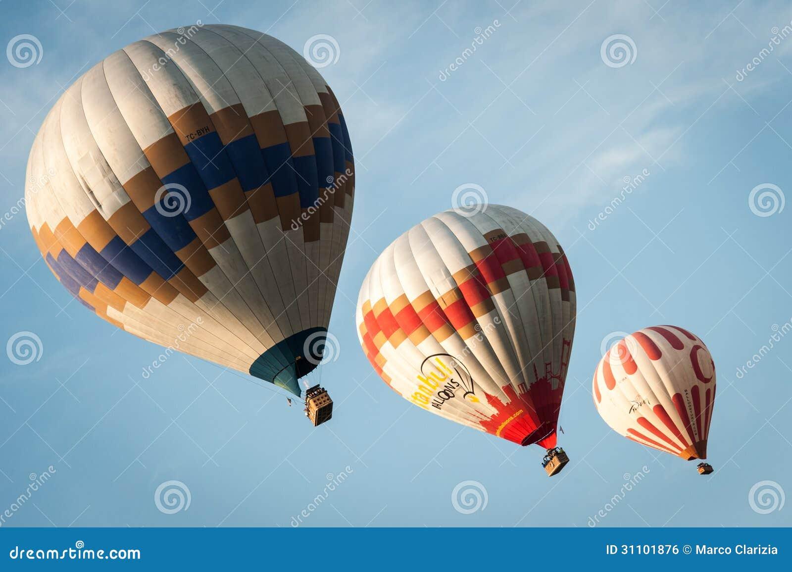 Cappadocia Balloons Editorial Photo - Image: 31101876