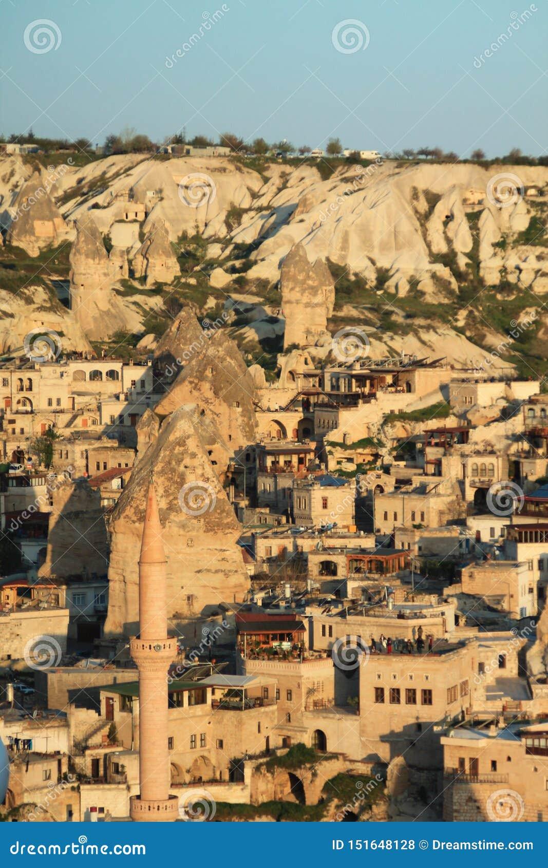 Cappadocia bij zonsopgang
