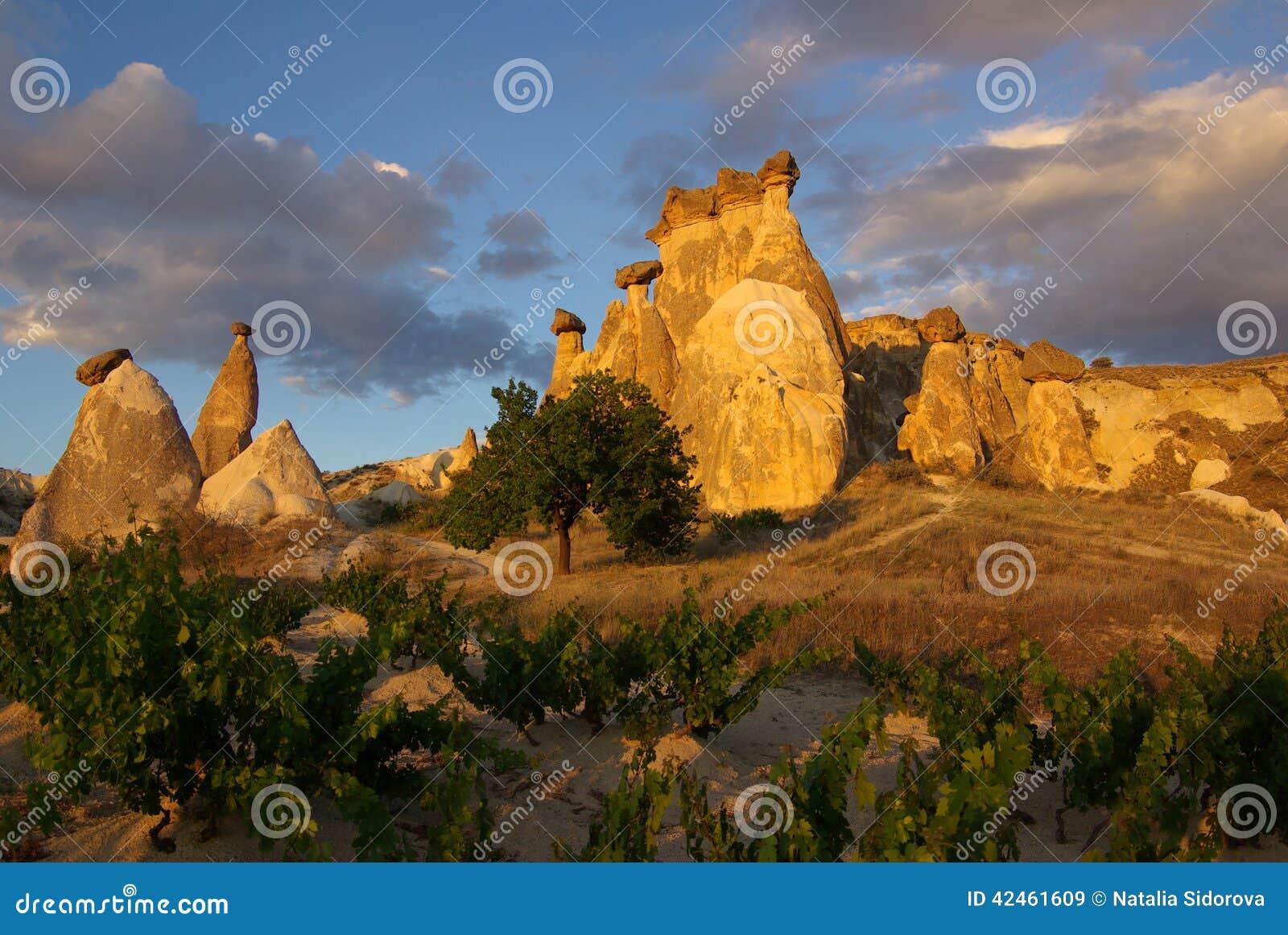 Cappadocia, die Türkei