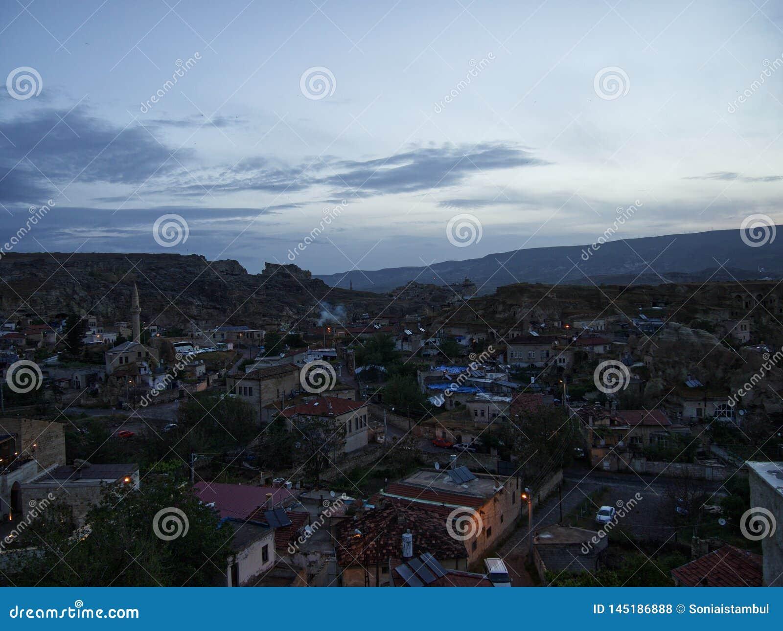 Urgup town at dawn