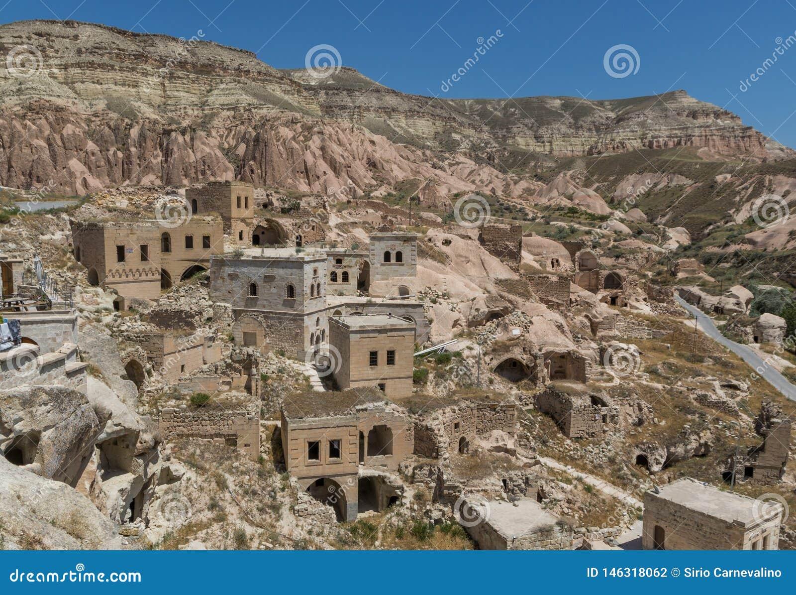 The wonderful landscape of Cappadocia, Turkey