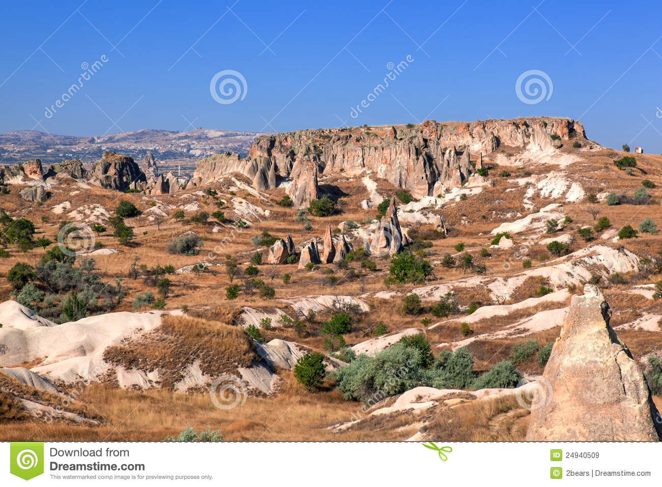 Urgup Turkey  city photos : Cappadocia, Turkey. Urgup Fairy Chimneys Royalty Free Stock Images ...