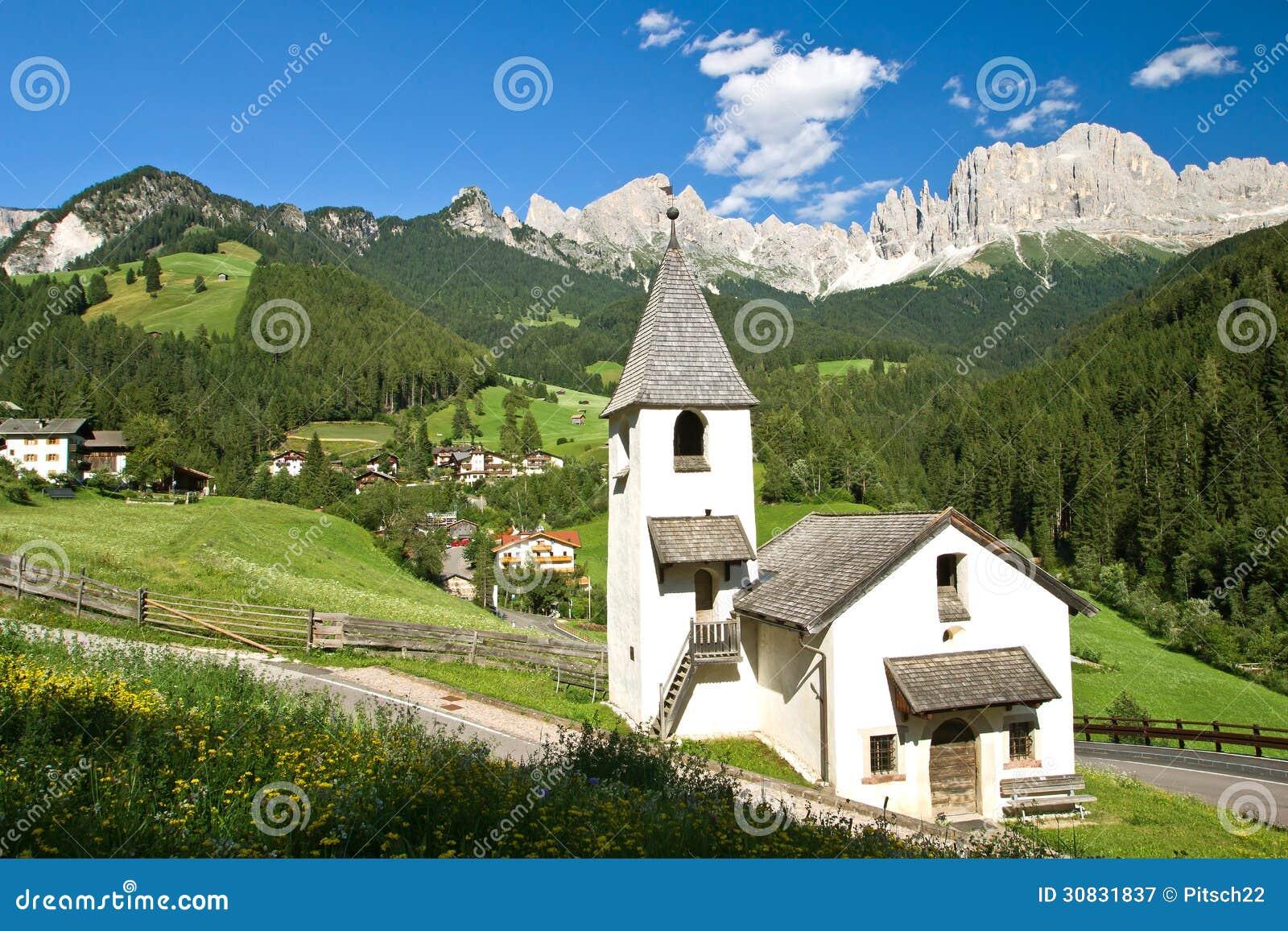 Cappella in san zyprian, Tirolo del sud